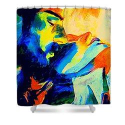 Shining Love Shower Curtain