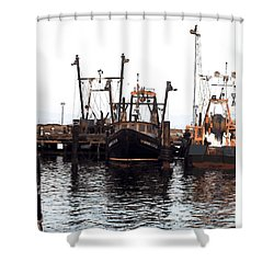 Shinnecock Painting Shower Curtain