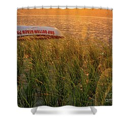 Ship Bottom Beach Patrol Shower Curtain