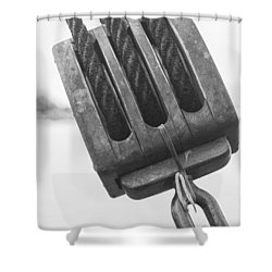 Ship Rigging Shower Curtain