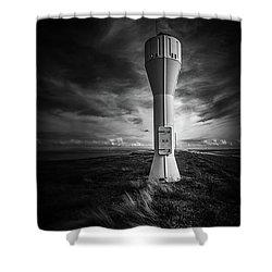 Shipping Light Shower Curtain