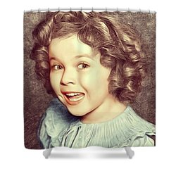 Shirley Temple, Actress Shower Curtain