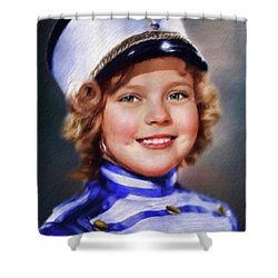 Shirley Temple, Vintage Actress Shower Curtain