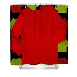 Shirts Shower Curtain by Bob Pardue