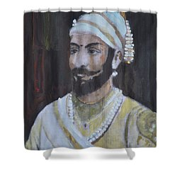 Shivaji Maharaj Shower Curtain