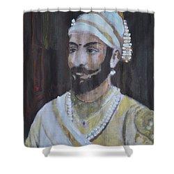 Shivaji Maharaj Shower Curtain