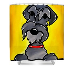 Shnoz Shower Curtain