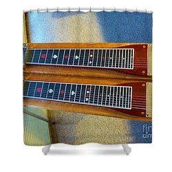 Sho-bud Pedal Steel Shower Curtain