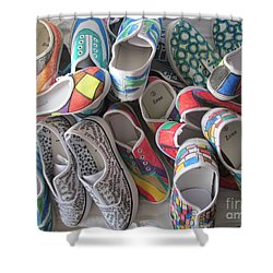 Shoe Pack - 001 Shower Curtain