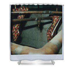 Shower Curtain featuring the photograph Shoe Study 1 by Steven Macanka