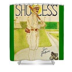 Shoeless Joe Jackson Shower Curtain