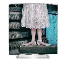 Shoes #6429 Shower Curtain