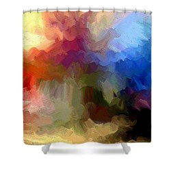Shoop Shower Curtain