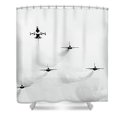 Shoot Up Shower Curtain