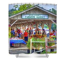 Shop Local Shower Curtain by Dale R Carlson
