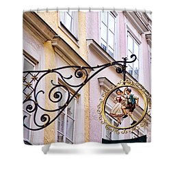 Happy Shoppers Shower Curtain