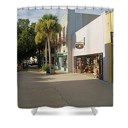 Shops On St George Street  Shower Curtain