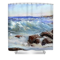 Shore Is Breathtaking Shower Curtain