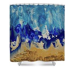 Shore Shower Curtain