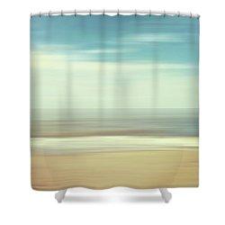 Shore Shower Curtain by Wim Lanclus