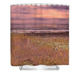 Shores Of Life Shower Curtain