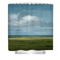 Short Wharf Creek 5 Shower Curtain