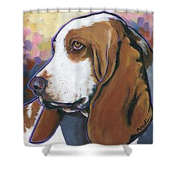 Shorty Shower Curtain by Nadi Spencer