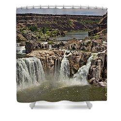Shoshone Falls Shower Curtain