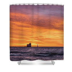Shower Curtain featuring the photograph Should Have Been There by Bill Pevlor
