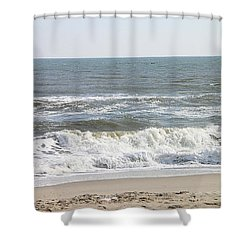 Should I Go In? Shower Curtain