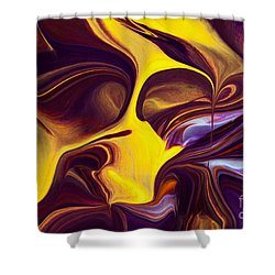 Shout Shower Curtain