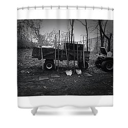 Shovels And Fappers Shower Curtain