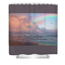 Show Me A Sign Shower Curtain