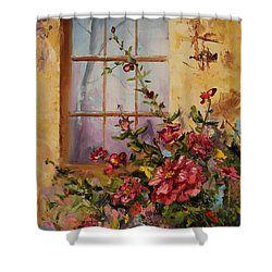 Show Of Color Shower Curtain