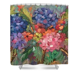 Show Offs Shower Curtain