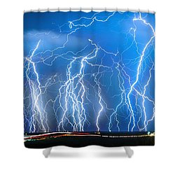 Show On Broadway Ave Shower Curtain