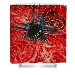 Show Stopper Shower Curtain by Sharon Cummings