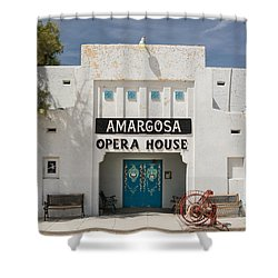 Show Tonight Amargosa Opera House Shower Curtain