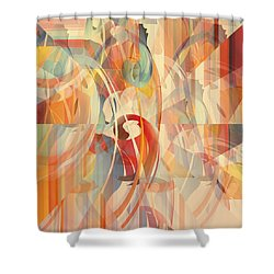 Shower Curtain featuring the digital art Shower Curtain No 1 by Robert G Kernodle
