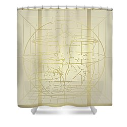 Shower Curtain featuring the digital art Shower Curtain No 2 by Robert G Kernodle