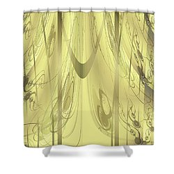 Shower Curtain featuring the digital art Shower Curtain No 3 by Robert G Kernodle