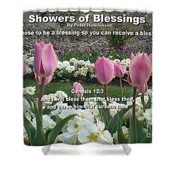 Showers Of Blessings Shower Curtain