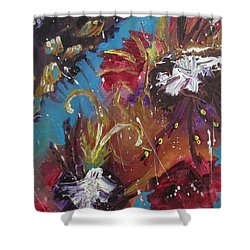 Showers Of Flowers Shower Curtain