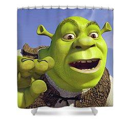 Shrek Shower Curtains