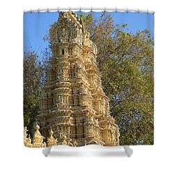 Shri Shweta Varahaswamy Temple Shower Curtain