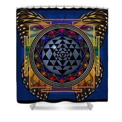 Shri Yantra 1 Shower Curtain