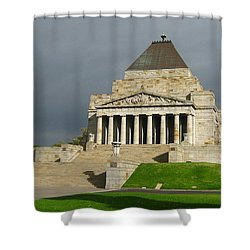 Shrine Of Remembrance Shower Curtain
