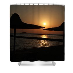 Shower Curtain featuring the photograph Shuldersol by Jez C Self