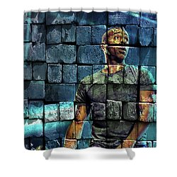 Shurik'n , Iam Shower Curtain