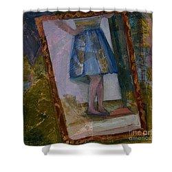 Shy Reflection Shower Curtain